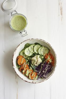 Delightfully Green Tahini Dressing