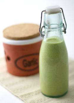 King Garlic Hemp Dressing by Kristen Suzanne