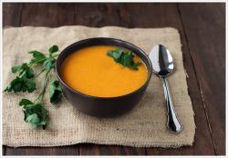 Carrot Coconut Ginger Soup