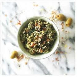 Lemon & Almond Green Olive Tapenade