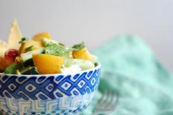 This Nectarine Avocado Salad