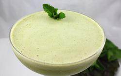 Creamy Mint-Melon Cocktail by Diana Stobo