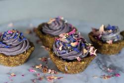 Raw Lavender Fig Tarts