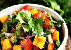 Spicy Mango and Lime Chunky Salsa