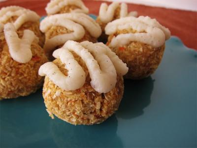 Raw Carrot Cake Coconut Macaroons