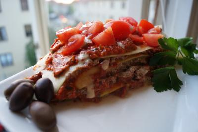 Creamy Triple Layered Raw Vegan Lasagna