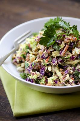 Cashew Curry Mayo with Cabbage Slaw