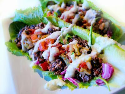 Raw Walnut Tacos with Jalape