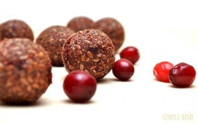 Cranberry Carob Balls