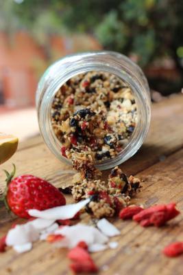 Raw Superfood Granola