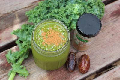Giddy Up and Glow Green Smoothie