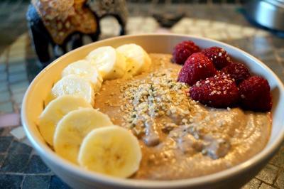 Carob Inspired Buckwheat Porridge