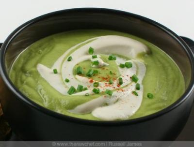 Avocado Lime Soup by Russel James