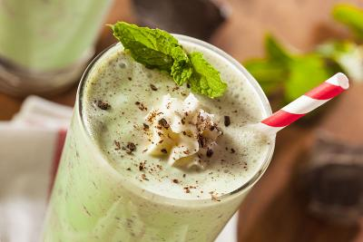 Minty Maca Supergreen Shake
