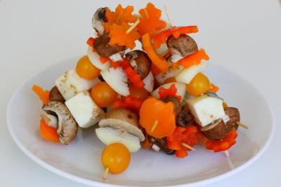 Veggie Kebabs by Golubka