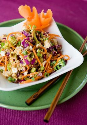 Veggie Un-Fried Jicama Rice