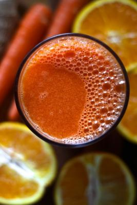 Ginger Orange Carrot Juice