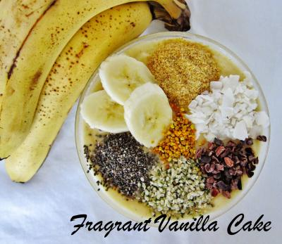 Banana Cream Pie Smoothie Bowl