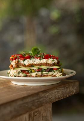 Elaina Love's Marinated Vegetable Lasagna