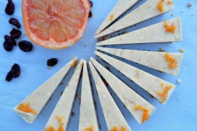 Cranberry Grapefruit Slices!