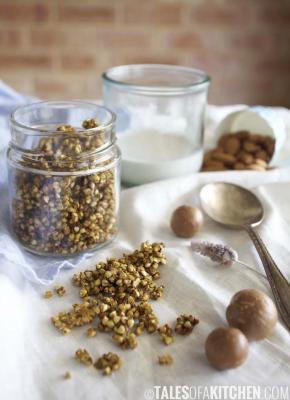 Nourishing Turmeric Granola