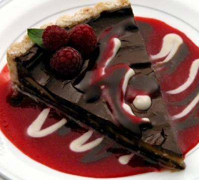 Chocolate Mousse Torte by Elaine Love