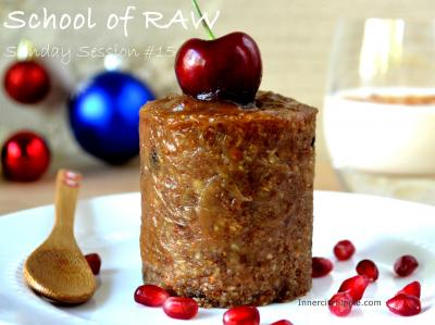 Raw Mini Christmas Pudding