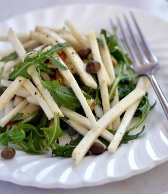 Celeriac, Pear and Rocket Salad