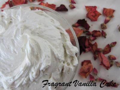 Vanilla Bean Rose Body Frosting