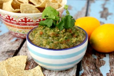 Cilantro and Lime Salsa
