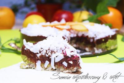 Royal Green Superfood Cake with Peppermint Essential Oil