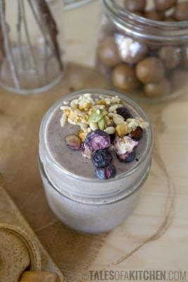 Two Seconds Chia Pudding Smoothie