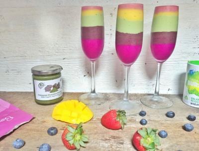 Love is Love Rainbow Smoothie Parfaits