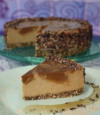 Superfood Chaga Cheesecake