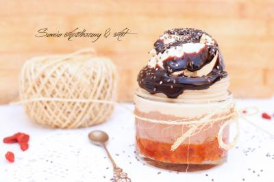 Italian Inspired Desert with Vegan Mascarpone