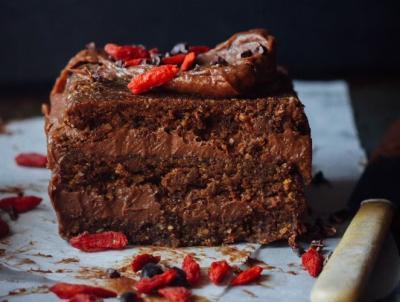Decadent Superfood Chocolate Cake