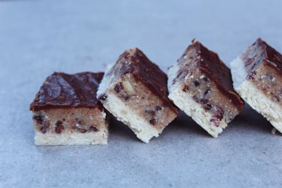 Healthy Cookie Dough Slice