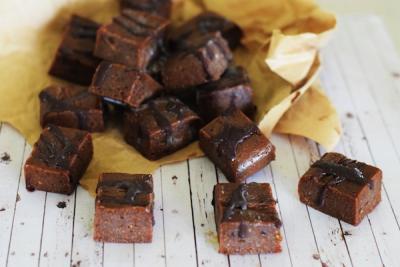Raw Chocolate Mint Fudge