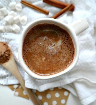 Homemade Vegan Superfood Hot Chocolare