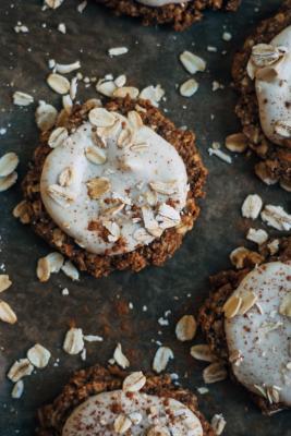 Really Good Raw Vegan Oatmeal Cookies