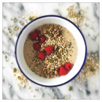 Buckwheat Berry Breakfast Bowl