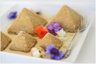 Ginger And Lemon Pyramid Cakes by Golubka