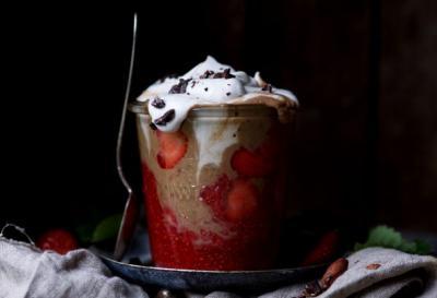 Java Shake w Maca & Strawberry