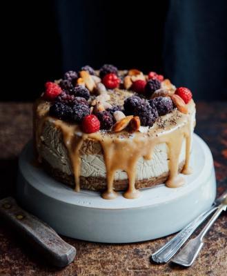 Fierce Salted Caramel Cheesecake