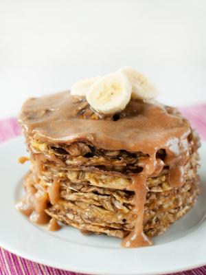 Raw Banana Pancakes
