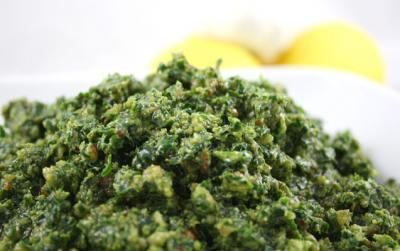 Lemony Kale Pesto by Diana Stobo