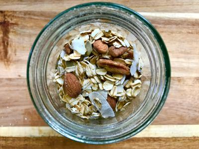 Homemade Superfood Raw Muesli