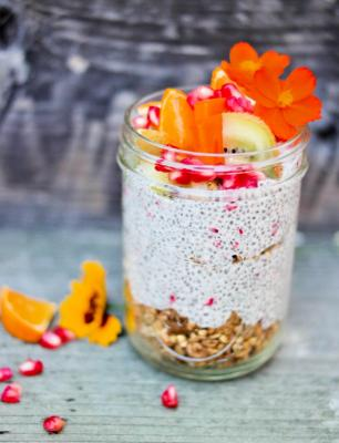 Tiger Nut Chia Pudding