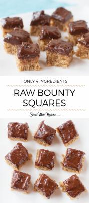 Raw Bounty Squares