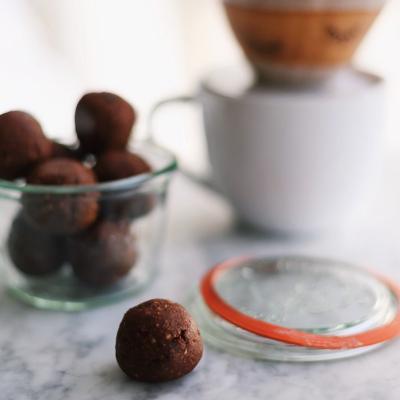 Dark Chocolate Almond Butter Balls